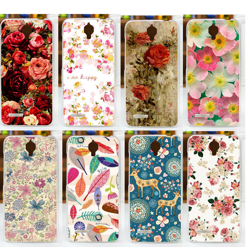 11 paintings rose brilliant flower pattern diy case for Alcatel One Touch Idol 2 Mini 6016 6016D 6016A 6016E 6016X Case Cover(China (Mainland))