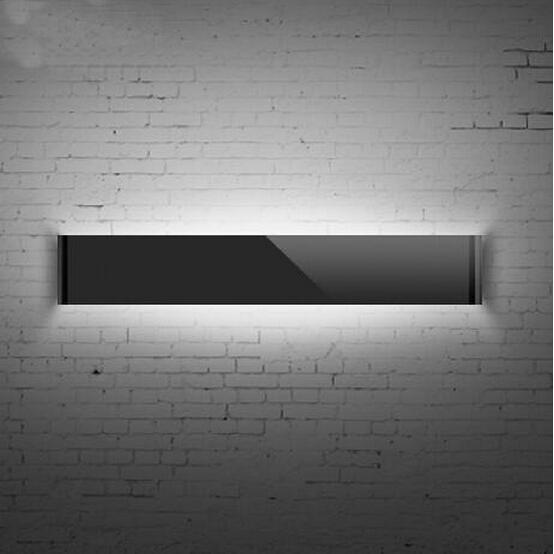 Led modern 14w acrylic led wall light make up lighting for Living room uplighting