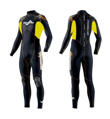 Water Pro ColorBase Full Suit 3.5mm Wetsuits Neoprene Water Sports Surfing Snorkeling Scuba Diving Whosale