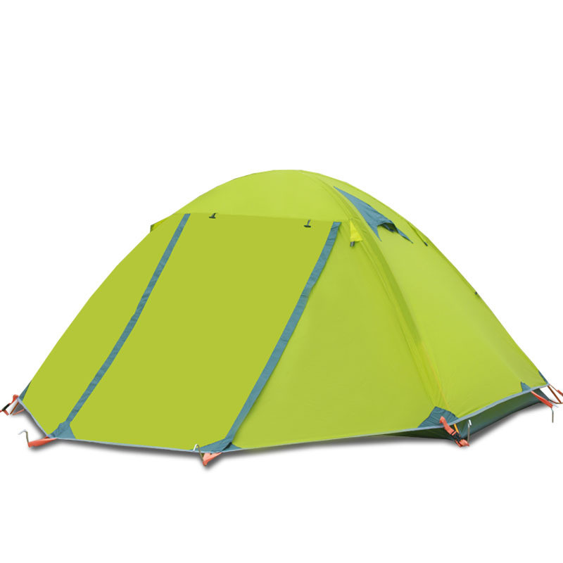 2 Persons 2.5KG Outdoor Camping Equipment Waterproof Double Layer Dome Aluminum Pole Camping Tent High Quality New Tents