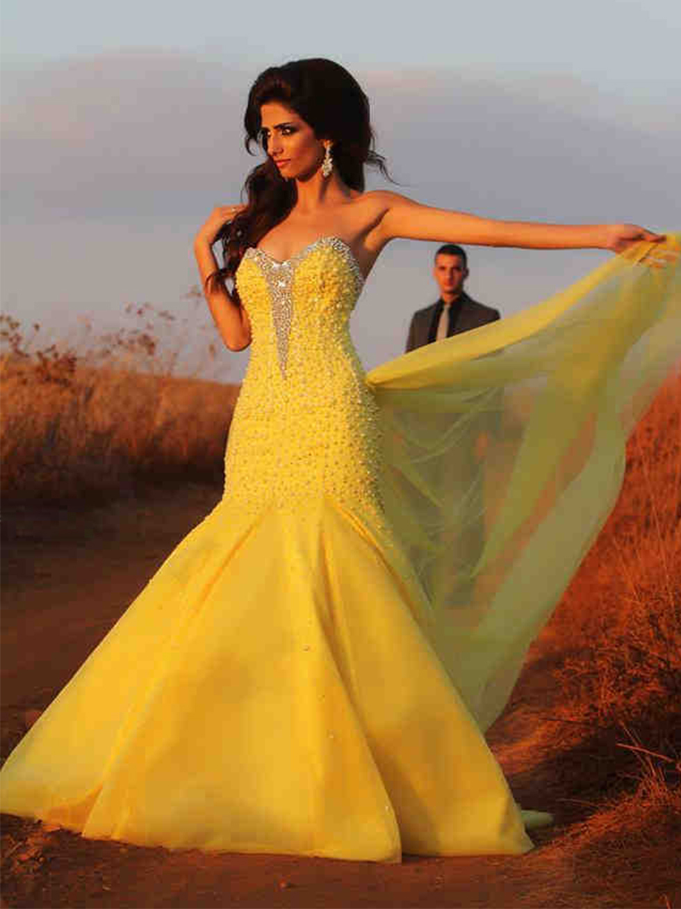 Yellow wedding dresses cocktail dresses 2016 for Wedding dresses in yellow