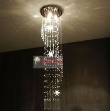 Modern double spiral staircase, crystal chandelier crystal lamp crystal chandelier luxury luxury chandelier column(China (Mainland))