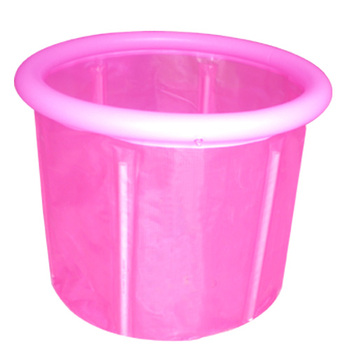 Jkhappy70 70 sponge aerosphere pump folding tub folding bathtub bath bucket bath bucket