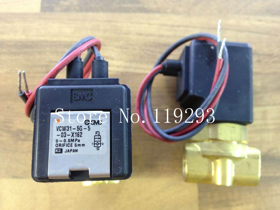 [SA]Imported SMC VCW31-5G-5-03-X162 two -way solenoid valve coil valve DC24V genuine--2pcs/lot<br><br>Aliexpress