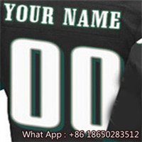 100% Stitched With Customized #11 Carson #20 Brian #43 Darren #91 Fletcher #98 Connor Men's Black Green White Jersey(China (Mainland))