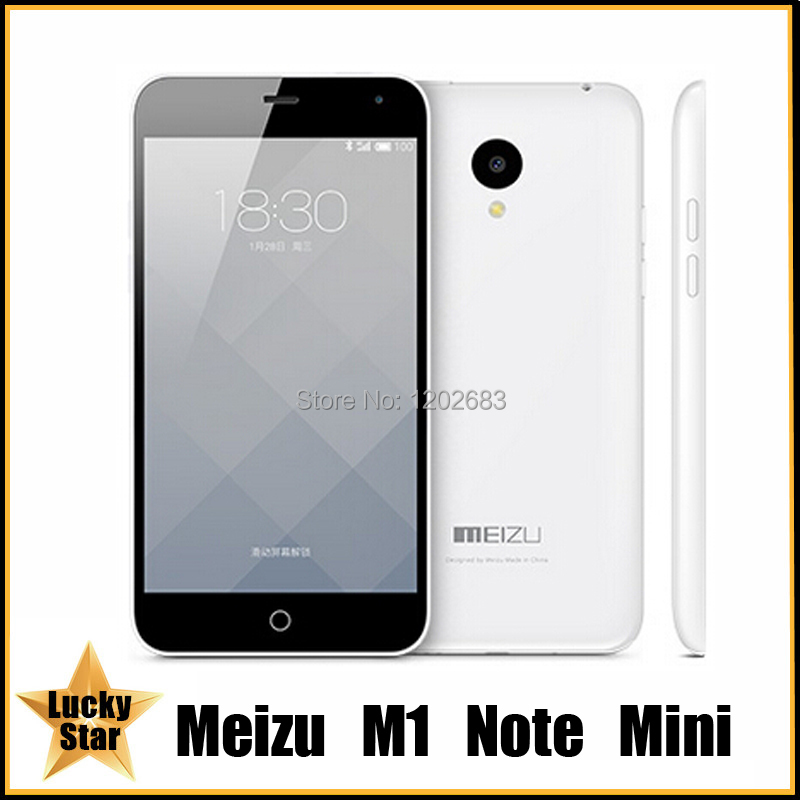 Original MeiZu M1 Note Mini Noblue Mobile Cell Phone MTK6732 Quad Core Android 4.4 5 Inch IPS 1280X768 1GB RAM 8GB ROM 13.0MP(China (Mainland))