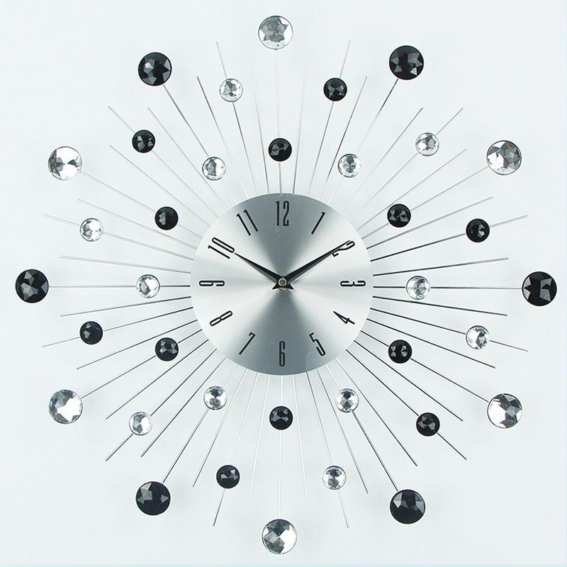 Moderne abstrakte metallwandkunst beurteilungen online for Grosse pendule murale design