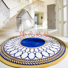 250*250cm 2016 The Latest European Fashion Carpet, The Sitting Room The Bedroom Circle Rug, The Abstract Leaves Acrylic Carpets.(China (Mainland))
