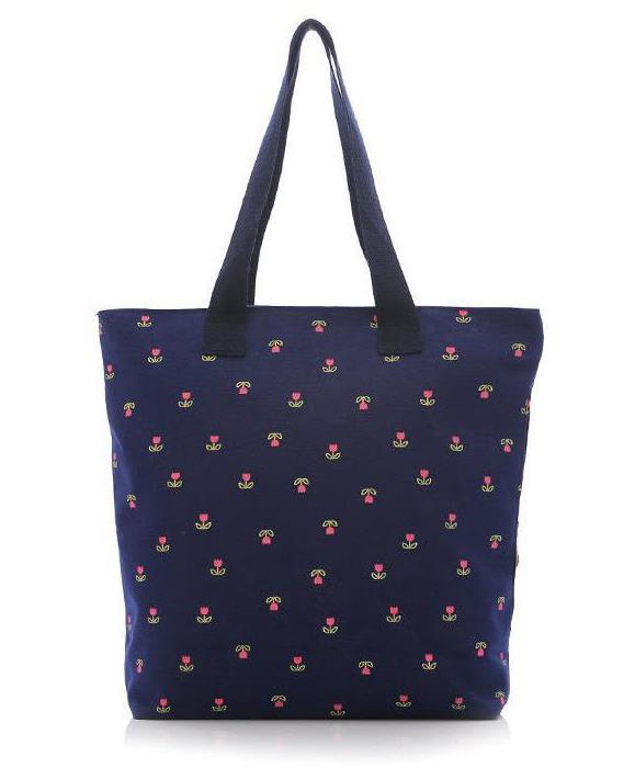 Fashion Women Bags Casual Canvas Tote Women Handbags Flower Pattern Shoulder Bags For Ladies Blosas Feminina(China (Mainland))