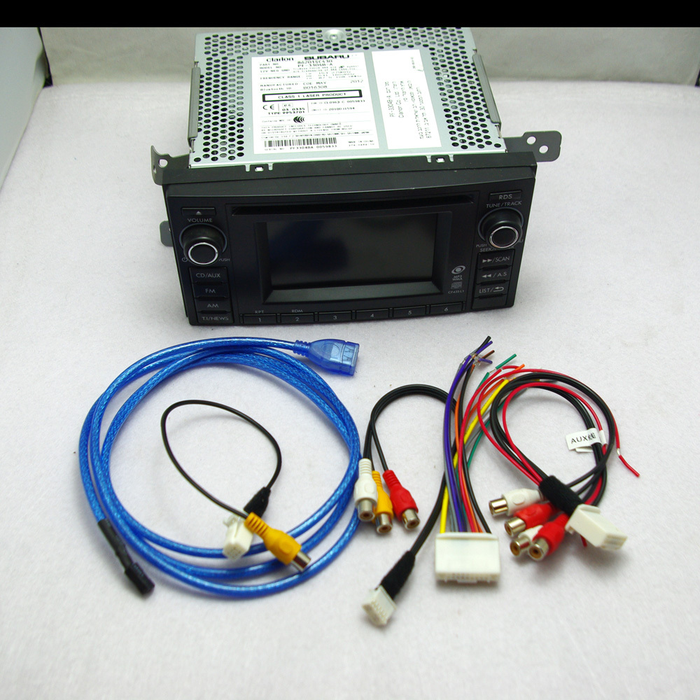 Здесь можно купить  Factory Original OEM Subaru Forester 2012 Car Radio CD Player Stereo With USB AUX VTR Reverse Camera Adapters 86201SC430 Factory Original OEM Subaru Forester 2012 Car Radio CD Player Stereo With USB AUX VTR Reverse Camera Adapters 86201SC430 Автомобили и Мотоциклы