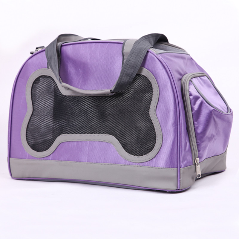 Wholesale air small bone pet carriers pet dog out bags for small