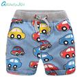 Grandwish Summer Cars Denim Shorts for Boys Cartoon Beach Jeans Shorts for Children Boy s Pattern