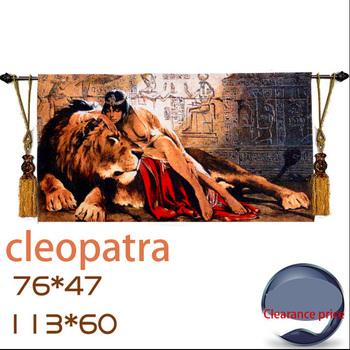 Клеопатра гобелены два вида размера
