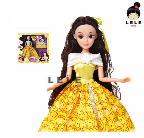 2015 The first exclusive,Beauty and the beast,Princes doll ,gift for girl Free shipping(China (Mainland))