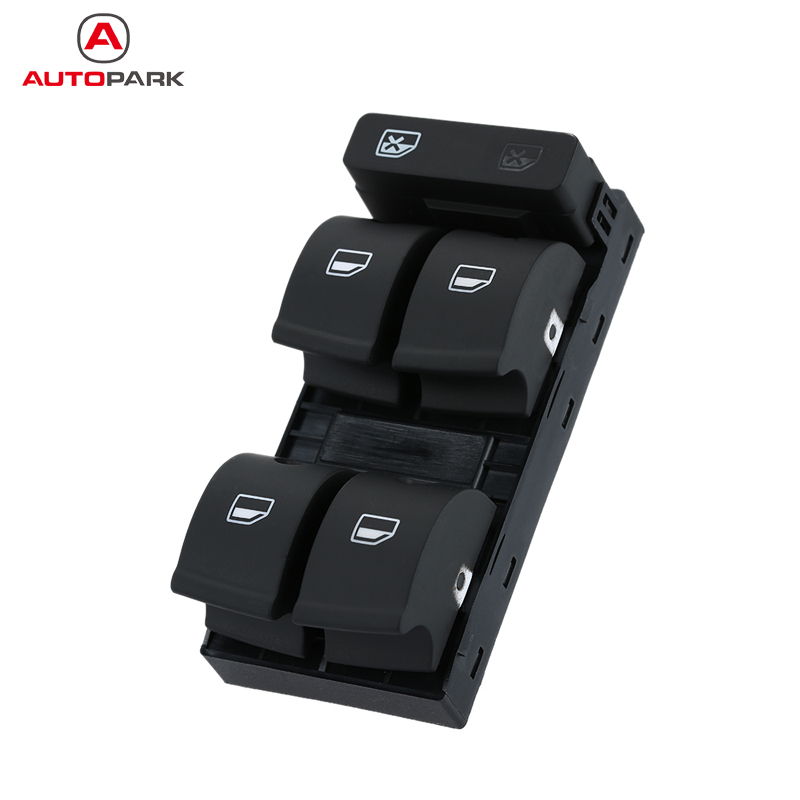 5 Button Car Modification Electronic Window lifter Switch for Audi A4 B6 B7 02-05 Car Accessories for Audi(China (Mainland))
