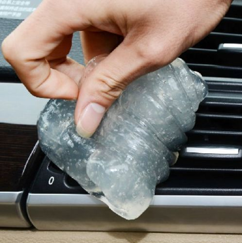 Air Conditioning Vent Panel Dust Remove Cleaner Glue/Gel/Gum Plastic fit For E46(China (Mainland))