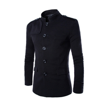 Top quality men jackets slim fit outerwear mens coat cardigans free shipping 2 colors M L XL XXL AY015(China (Mainland))