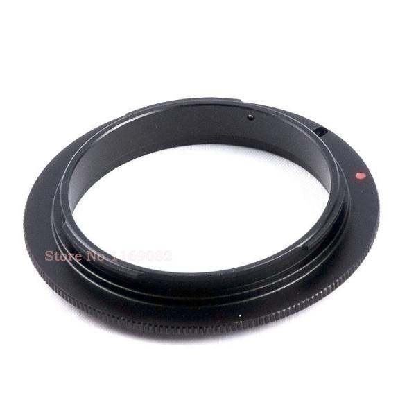 Macro lens 49mm Reverse Adapter Ring Nik AI -49 Mount DSLR Camera