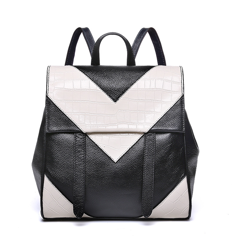 In the spring of the new leather women bag The first layer cowhide backpack<br><br>Aliexpress
