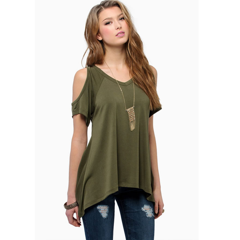 s xxl plus size women clothing sexy off shoulder t shirt