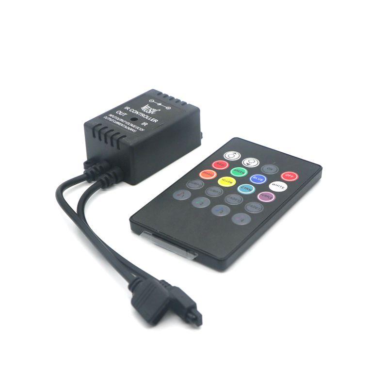 20 Key Music Voice Sensor Rgb Led Controller Sound IR Remote Control Practical Home Party Useful RGB 5050 3528 LED Strip(China (Mainland))