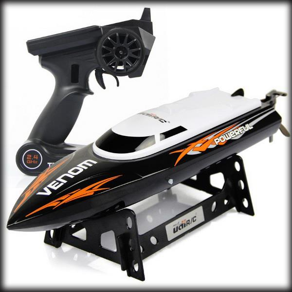 by ems 10 pieces 2.4G RC Racing Boat UDI Udi001 Infinitely Variable Super Speed High Speed 32CM 25km/h Remote Control(China (Mainland))