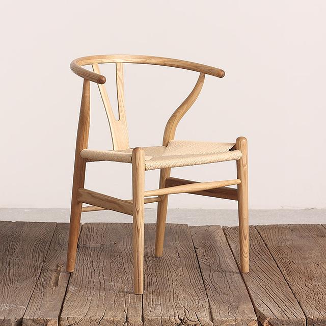 Koop scandinavische moderne chinese stoel for Ikea houten stoel