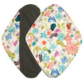 New Arrival 1pc Reusable Bamboo Cloth Washable Menstrual Pad Mama Sanitary Towel Pad 17M8