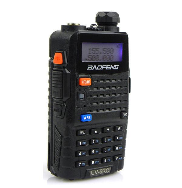 Baofeng Walkie Talkie UV-5RC&UV 5RC Interphone Transceiver 5W 128CH UHF&VHF Two Way FM Radio Mobile Portable Handled CB Radio(China (Mainland))