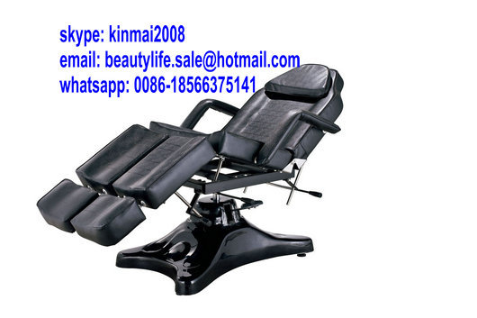 Hydraulic Beauty Bed Massage Supplies CE spa hydraulic reclining chair salon chair hydraulic base hydraulic tattoo chair(China (Mainland))