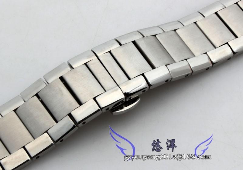 Новых людей из нержавеющей стали серебристого металла браслет часов группа ремешок 22 мм для AR2448 AR2432