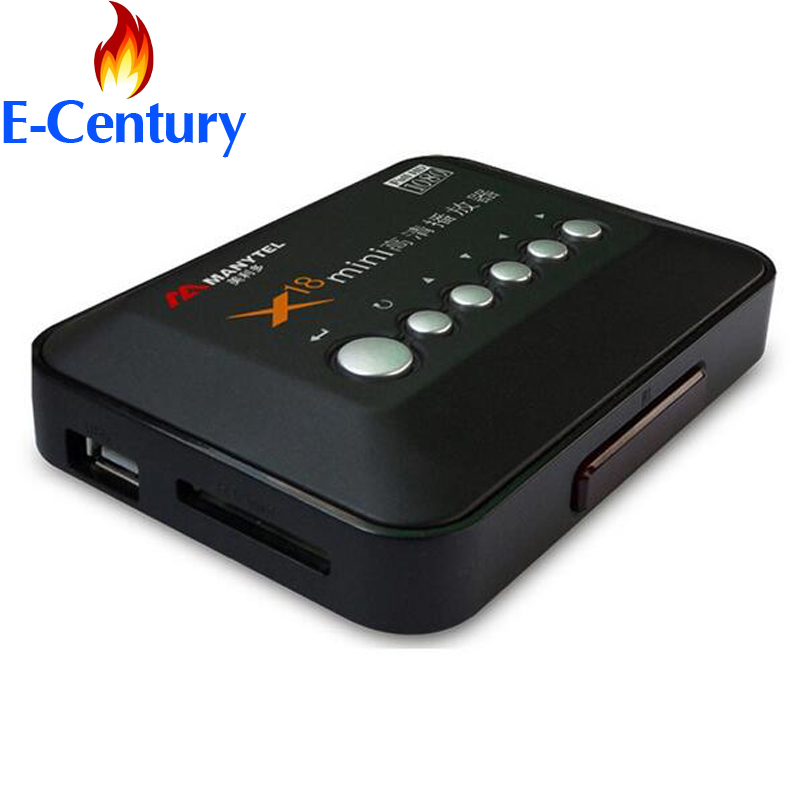 MANYTEL Full Hd 1080P Media Player RMVB RM H.264 MKV AVI VOB HDMI Output Hdd Player(China (Mainland))