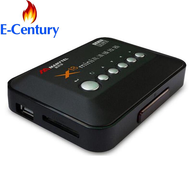 MANYTEL Full Hd 1080P Media Player RMVB RM H.264 MKV AVI VOB HDMI Output Hdd Player(China (Mainland))
