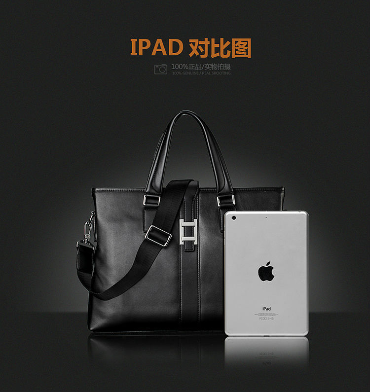 New Collection Fashion Men Brand Bag Leather, Men Luxury Business