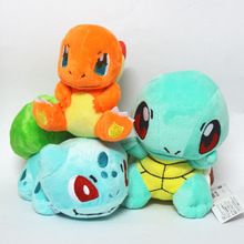 2017 Brand New Pokemon Go Plush Toy Bulbasaur Charmander Squirtle Doll Figure Collectible - Icebeautyshop store