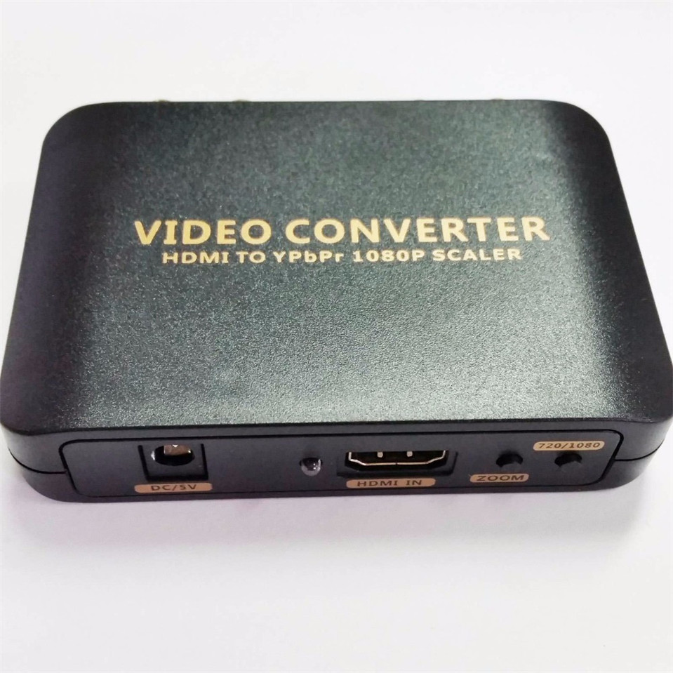 HDMI TO YPBPR 5RCA Converter HDMI to Ypbpr scaler adapter HDMI TO 5RCA Component Video for Game TV(China (Mainland))