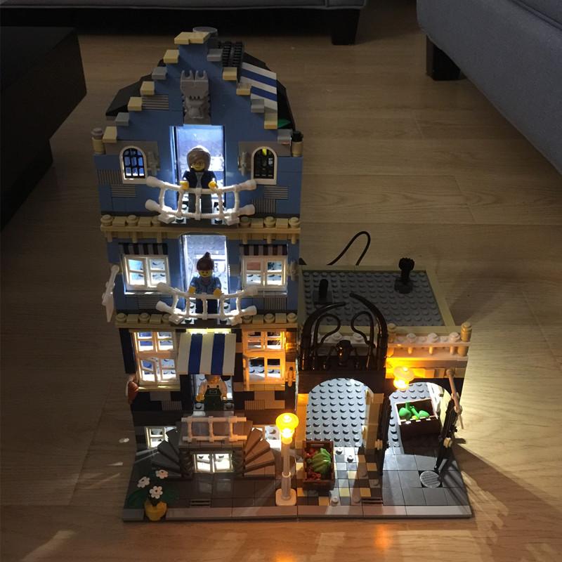 Maison lego ensemble promotion achetez des maison lego for Modele maison lego