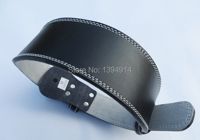 Free Shipping Hot Weight lifting leather belt gym equipment weights waist protector fitness weightlifting barbell belt