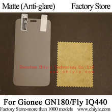 Matte Anti-glare Screen Protector Guard Cover protective Film For Gionee GN180 / Fly IQ440