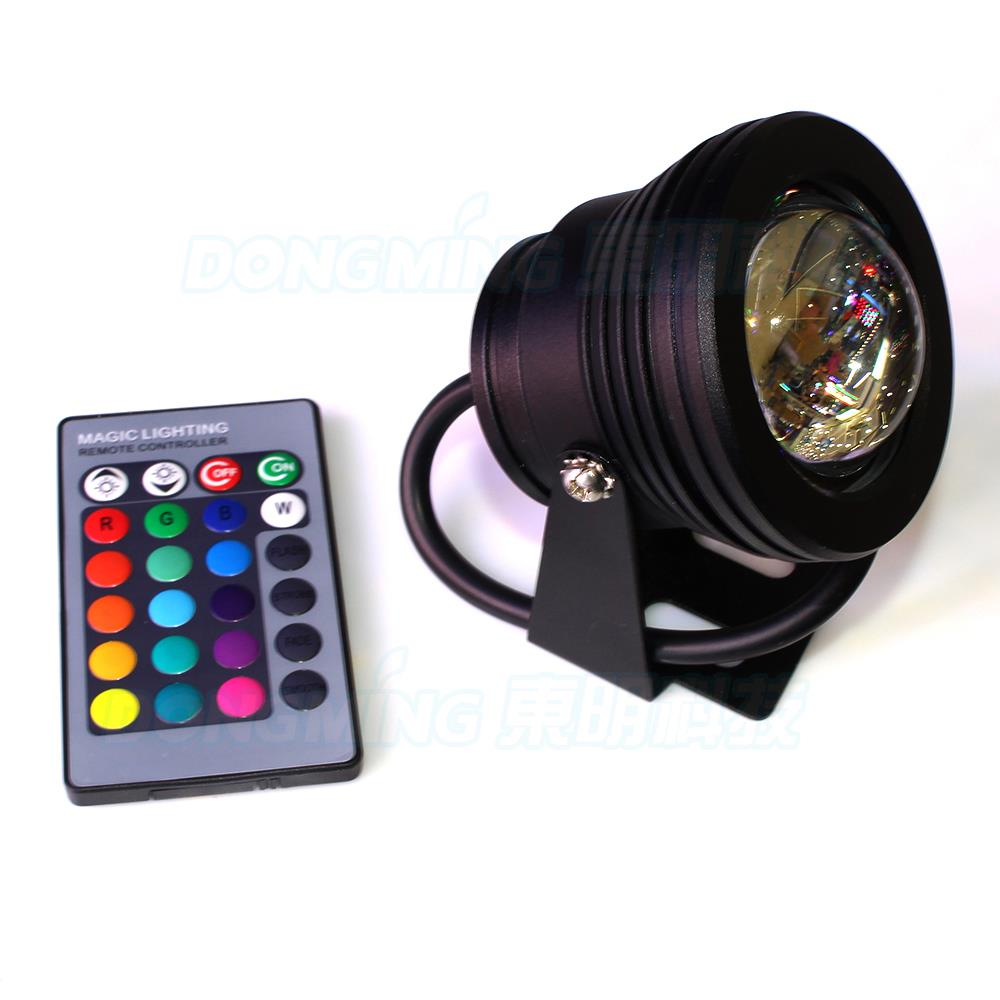 10pcs 10W led underwater pool light black cover convex lens underwater led lamp rgb underwater led lights IP68<br><br>Aliexpress