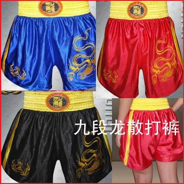 Free shipping 1PCS New Muay Thai Boxing Trunks Combat MMA Boxer Shorts(China (Mainland))