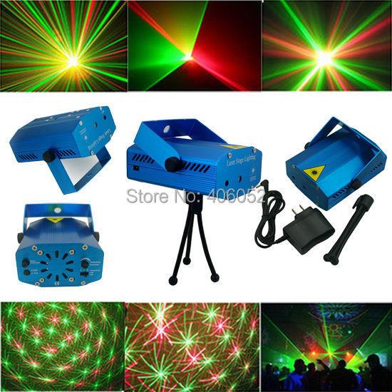 Red & green RGB mini stage lights ktv dj disco light laser projector stroboscopic 110V -240V - Shenzhen Joyland Optoelectronics Technology Co. , Ltd store