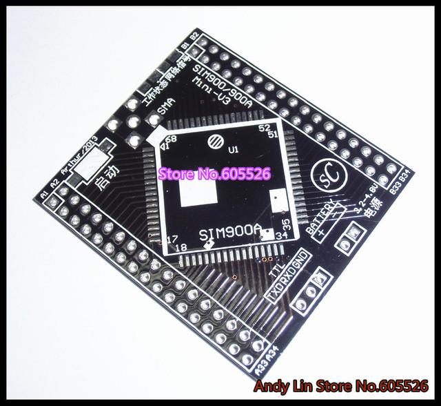 SIM900A Adapter plate Turn into   SIM900 turn DIP  socket   New And Original Parts (QFN pin DIP)