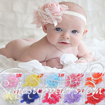 Baby Headbands,Infant Girl Floral Headband Topknot Hair Accessories,Infant Hair Band Hair Jewelry 10pcs free shipping TS-0130