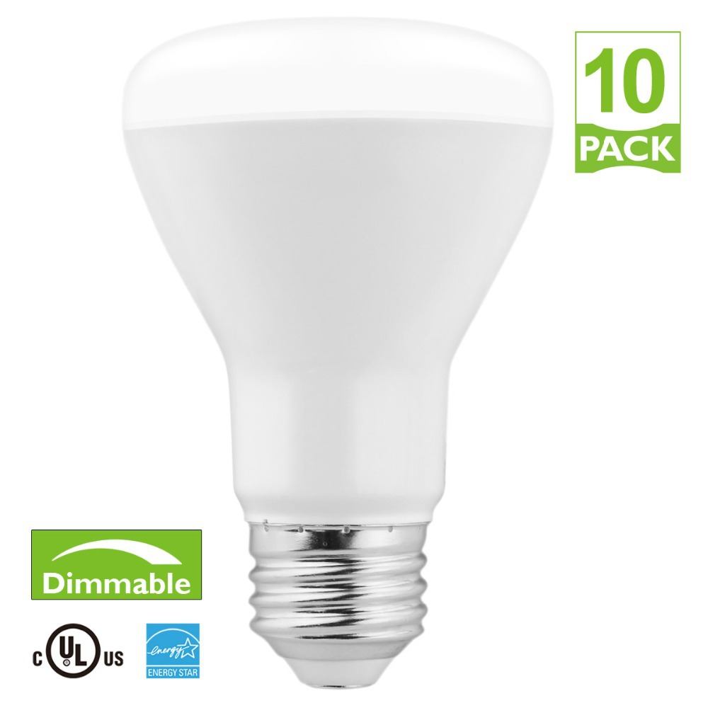 R20 LED flood bulb lights 10pcs/lot E26 SMD5630 BR20 lamp ,7W 3000k 5000k warm white daylight 110v E26(China (Mainland))