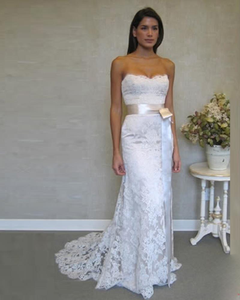 Popular casual winter wedding dress buy cheap casual for Winter mermaid wedding dresses