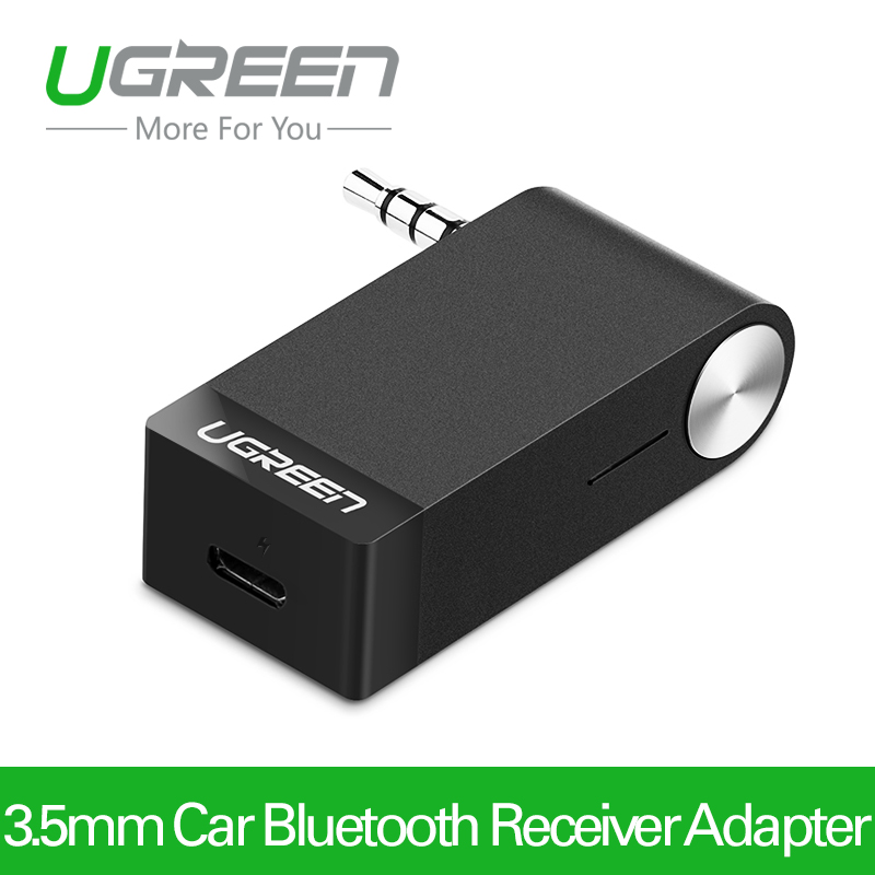 Ugreen MM114 3.5mm Car Bluetooth Audio Music Receiver Adapter Auto AUX Streaming wireless headset speaker(China (Mainland))