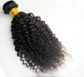 #2 Darkest Brown 18-30 inch Deep Curly Peruvian Hair Weft 100g Long Wavy Hair Extensions