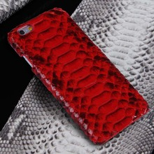 Luxury Original Genuine Anaconda Python Snake Skin Leather Case For Apple iPhone 6s 4.7/ Plus 5.5 Mobile Phone Case Cover JS0164