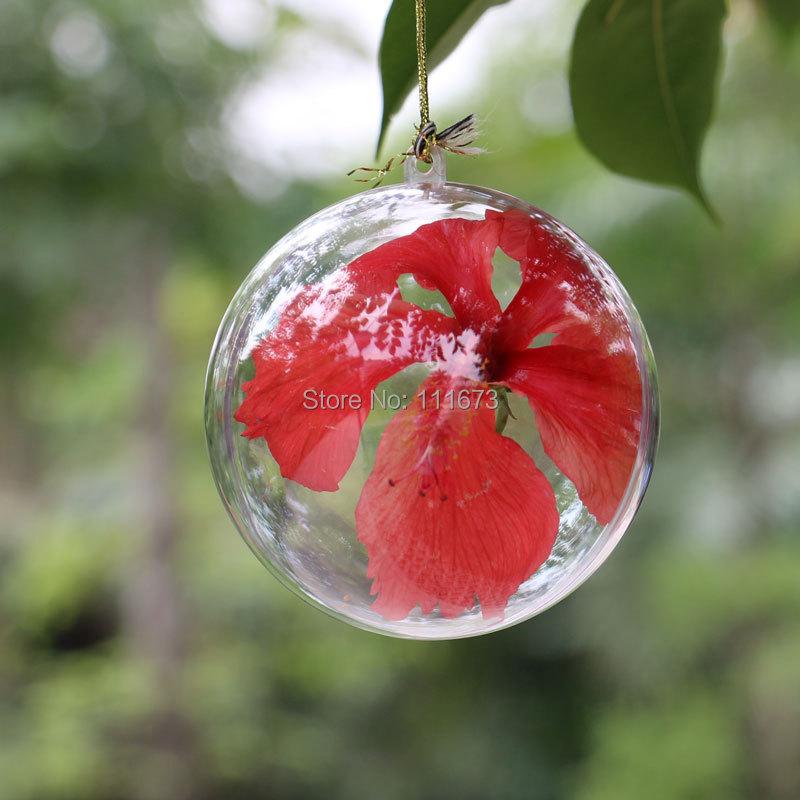 2014 Real Limited Freeshipping Enfeites De Natal Tree Wholesales 9cm Transparent Plastic Christmas Decoration Ball,240pcs/lot(China (Mainland))